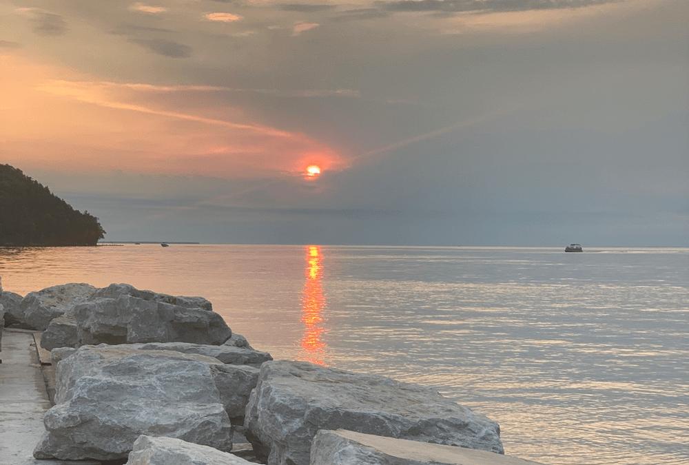 Michi Gami Sunset