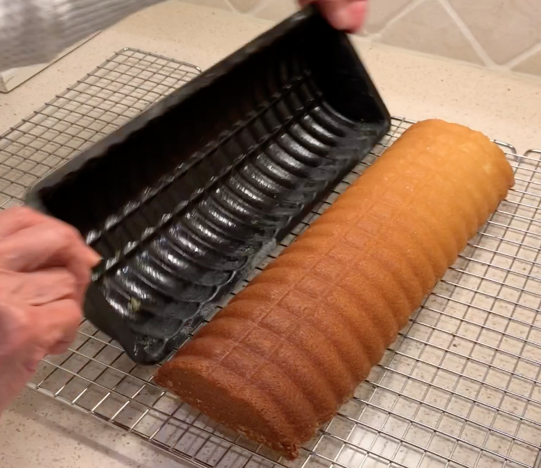 "My Almond Cake Pan Versus The ""Other Pan"""