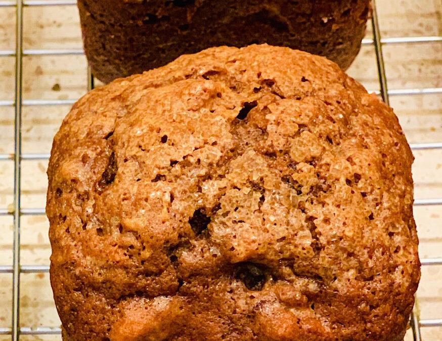 Ghirardelli Chocolate Banana Chocolate Chip Muffins