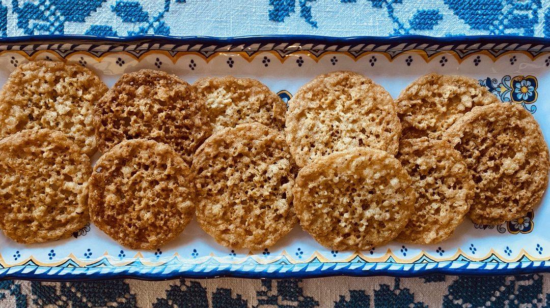 Ilse's Lacy Cookies