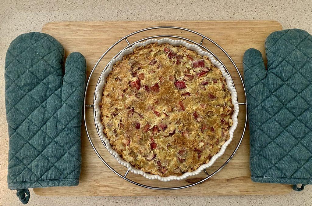 Springtime is Rhubarb Pie Time
